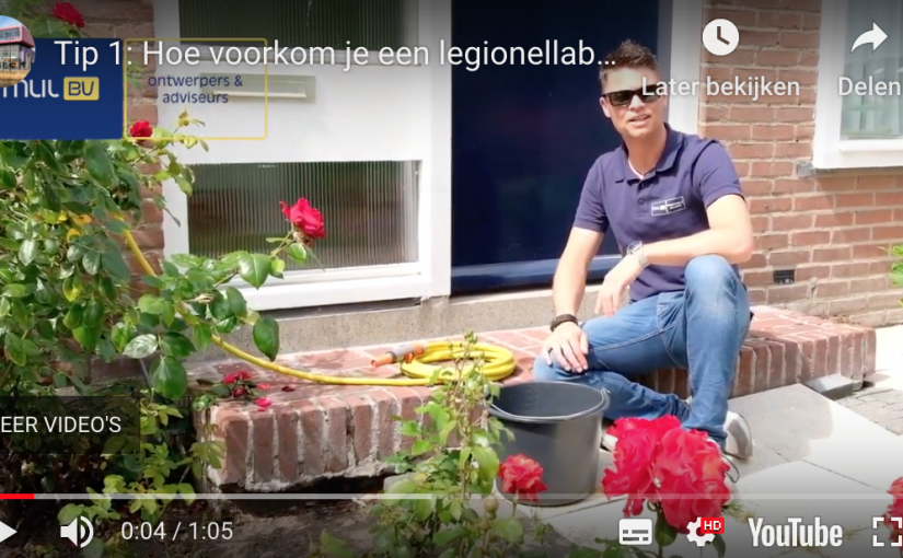 Tip 1: Voorkom legionellabesmetting door je tuinslang