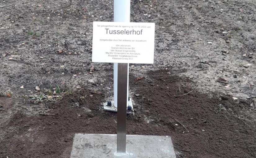 opening van tusselerhof zorglocatie Pro Senectute